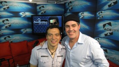 Adam and Carlos Mencia